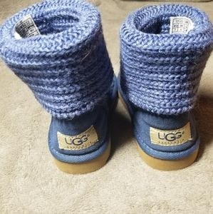 UGG Toddler Knit Wool Boots